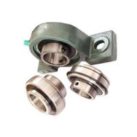 Chrome steel Pillow Block Ball Bearing with eccentric locking collar for Air conditioner Manufactures