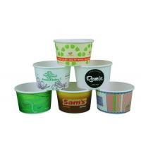 Multiple Size Personalized Disposable Soup Cups With Lids , Hot Food Cups Manufactures