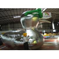 Customized Big Inflatable Duck Character Cartoon / Animal For Advertising Manufactures