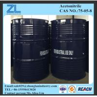 99.98% industry grade Acetonitrile Manufactures