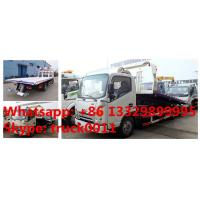Quality China famous JAC brand flatbed towing vehicle for sale, JAC brand 4*2 LHD car for sale