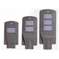10W Epistar 2100 Lumens Motion Sensor Solar Wall Lamp 7.4V 2200mah Battery Manufactures