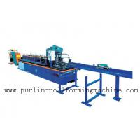 PLC Control System High Speed Light Stud Track Roll Forming Machine Manufactures