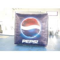 Cube Branded Helium Balloons Inflatable Square Balls UV Resistance Manufactures
