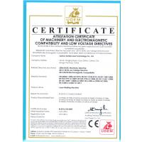 Suzhou Suntop Laser Technology Co., Ltd Certifications