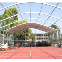 Outdoor Waterproof Durable Multi Functional Curved Tennis Court Tent Outside Canopy Tent Manufactures