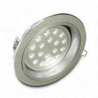 Downlight with 18 x 1W Power, 100 to 240V AC Operating Voltage and 35,000-hour Lifespan Manufactures