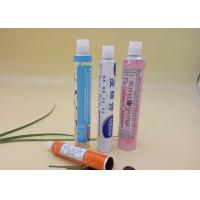 Collapsible Printed Tube Packaging For Ointment 20g Volume Thread Nozzle Manufactures