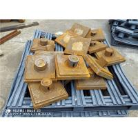 Industrial Wear Plate Sand Casting Process With Mo Ni Alloy Material Manufactures