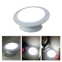 Cordless Rotatable Motion Detector Night Light DC 5.0V With PIR Motion Sensor Manufactures