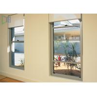 Quality Professional Double Hung Glass Aluminium Vertical Sliding Windows With Mosquito for sale
