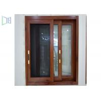 Red Subframe Powder Coated Aluminium Windows And Doors For Commercial / Villa Manufactures
