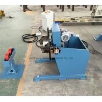 Long Tube Welding Positioner With Movable Roller Stand Vertical Control Box Manufactures