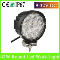 Hot-Sale 42W Super bright LED Work Light for Truck LED automotive Work Lights Manufactures