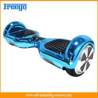 Blue Chrome Plated Two Wheel Hoverboard Self Balance Environmental Protection Manufactures