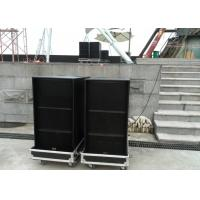 1600 W Subwoofer Stage Sound System Speakers For Live Performance Manufactures