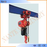 Single Phase IP54 / IP55 3 Ton Electric Chain Hoist With Pendent Control Manufactures