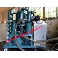 Quality PLC transformer oil filtration machine, dielectric oil filter module, automatic control for sale