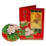Custom New Year,Christmas gift Matte lamination/UV coating Paper Greetings Card Printers  Manufactures
