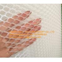 Quality Poultry Chicken Farm White PE Plastic Wire Mesh & Fencing Net for Broiler Chicken Floor Raising System for sale