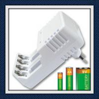 White Alkaline Battery Recharger Universal Rechargeable For Mobile Phone Manufactures