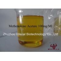 Bodybuilding Steroid Powder Methenolone Acetate 100mg / Ml Yellow Liquid Manufactures