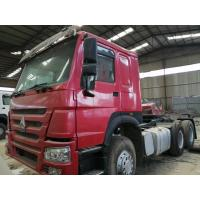 2015 made in china tractor head 6*4 10 Tires Sinotruck Howo tipper  dump truck tractor truck flatbed semi-trailer Manufactures