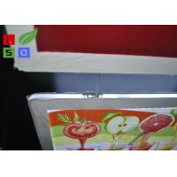 Quality Removable Magnetic Crystal LED Light Box Display A3 A4 Poster Size Hanging Power Wire System for sale