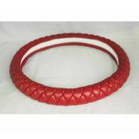 Lambskin hot sell Kuwait Russia Peru car steering wheel cover from Factory Manufactures