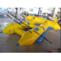 water park inflatable inflatable water games flyfish banana boat Manufactures