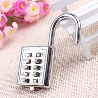 Mini push button Code zinc alloy Combination lock 10 pin Sports Locker Manufactures