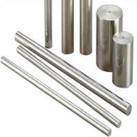 China Polished  Stainless Steel Bar Stock Cold Drawn High Mechanical Strength Natural Color on sale