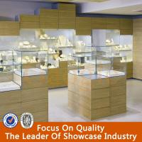 high quality jewellery showroom designs/jewellery counter display/jewellery showcase Manufactures