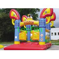 CE / EN71 Waterproof Commercial Bounce Houses With Eagle Model Manufactures