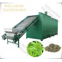 SUS304 Material Hemp Drying Machine 75% Drying Efficiency 10Kgs Loading Capacity Manufactures
