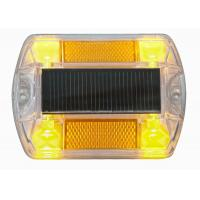 IP68 Polycarbonate Solar Road Stud , Path Marine Deck Dock  Road Step Pathway LED Lights Manufactures