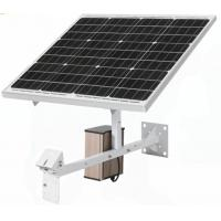 China Sumond CCTV Accessories solar panel 60W solar panel 40AH Lithium Battery Class A single crystal Panel on sale
