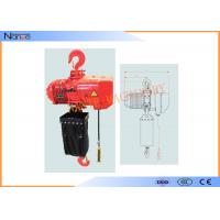 Hard Hook Electric Chain Hoist With 360 Degree Rotatable Safety Manufactures