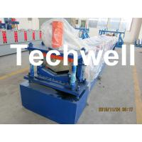 Manual / Automatical Decoiler Top Hat Cap / Ridge Flashing Roll Forming Machine Manufactures
