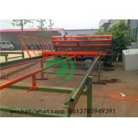 PLC Automatic Fencing Wire Making Machine , Wire Mesh Fencing Machine Manufactures