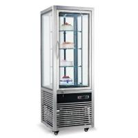 Cake Display Commercial Refrigerator Freezer Showcase All Around Glass Door Manufactures