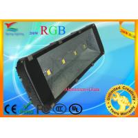200W 45 / 120 degree RGB LED Floodlight / LED wall washer CE & RoHS approval Manufactures