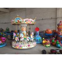 Custom Inflatable Amusement Equipment , inflatable christmas carousel For Park Manufactures