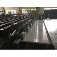 Buy cheap 2500mm wide PP/ HDPE/ ABS Thick Sheet / Board Extrusion Machine, Plastic Sheet Extrusion Machine from wholesalers