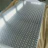 18 Gauge Chequred Polished Aluminum Sheet , 6061 Aluminum Checkered Sheet Manufactures