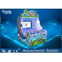 Kids Coin Pusher Redemption Game Machine Dolphin Shooting Ball Game Machine Manufactures