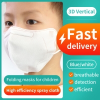 5 Layers Kn95 PFE 80% Children'S Disposable Face Masks Manufactures