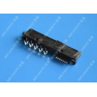 22 Pin Female SATA Data Connector SMT and Reverse Type 1.5A Current Rating Manufactures