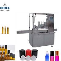 Automatic Cosmetic Liquid Filling Machine 15ml Bottle Volume CE Certification Manufactures