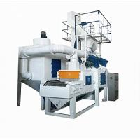 Wire Mesh Belt Shot Blasting Machine Pass Through Type For Casting Surface Manufactures